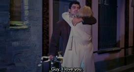 -Guy, je t'aime, ne me quitte pas.