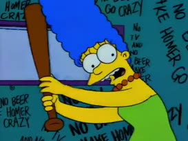 Stay away from me, Homer!