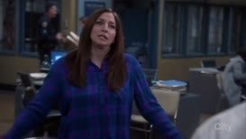 this is Gina Linetti's last grand exit