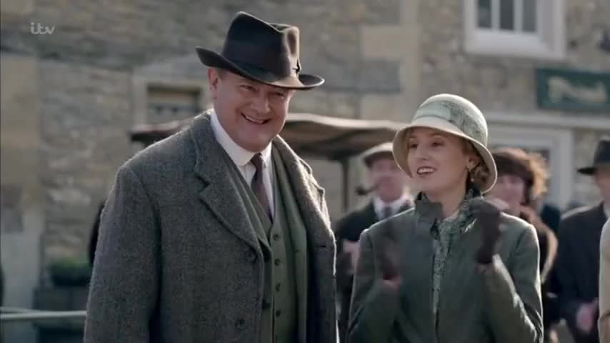 - Very good. - Pig man -- Mr Timothy Drewe.
