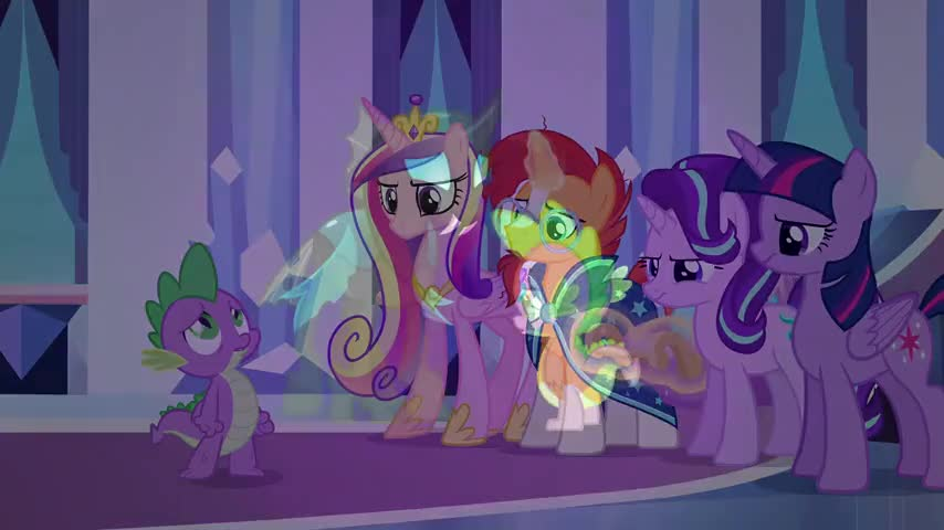 ♪ Then why can't we imagine a Changeling can change? ♪