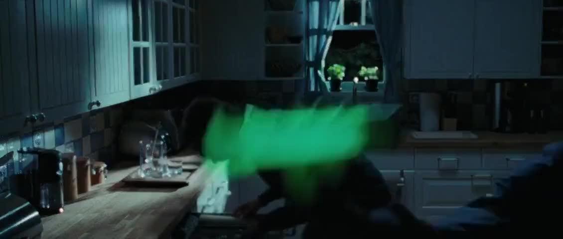 The Glow-in-the-Dark Flashlight!