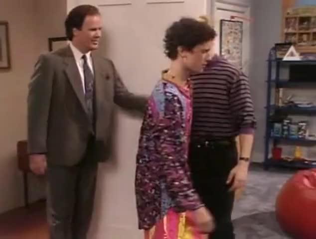 - Hey. - Mr. Belding?