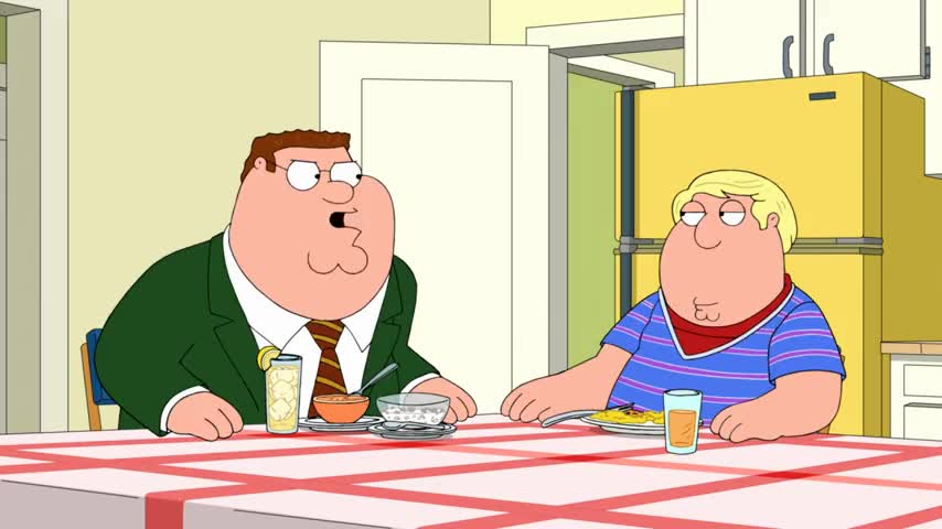Clip image for 'No, you are not! Chris Griffin, you are grounded.