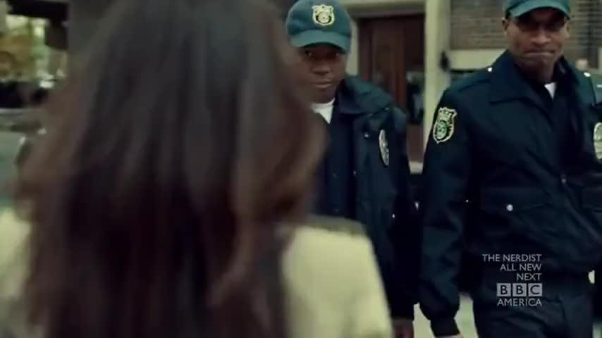Beth is a cop. I'm a cop.
