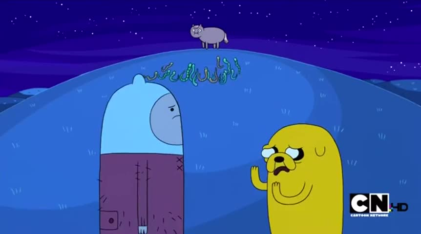 Yarn | [SIGHS] Dude, let's kill the horse  ~ Adventure Time with