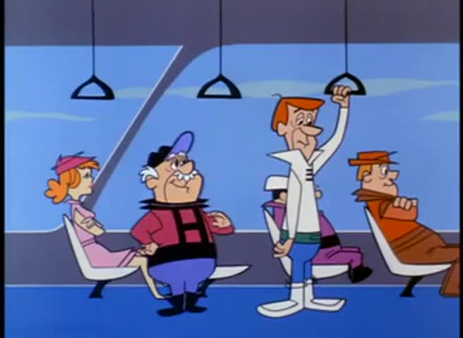 There she is, Mr. Jetson. The future Mrs. Henry Orbit.