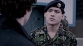 Corporal Lyons. Security.