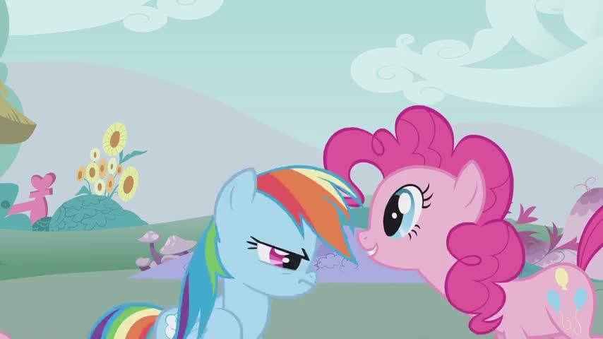 Pinkie Pie, you scared me.