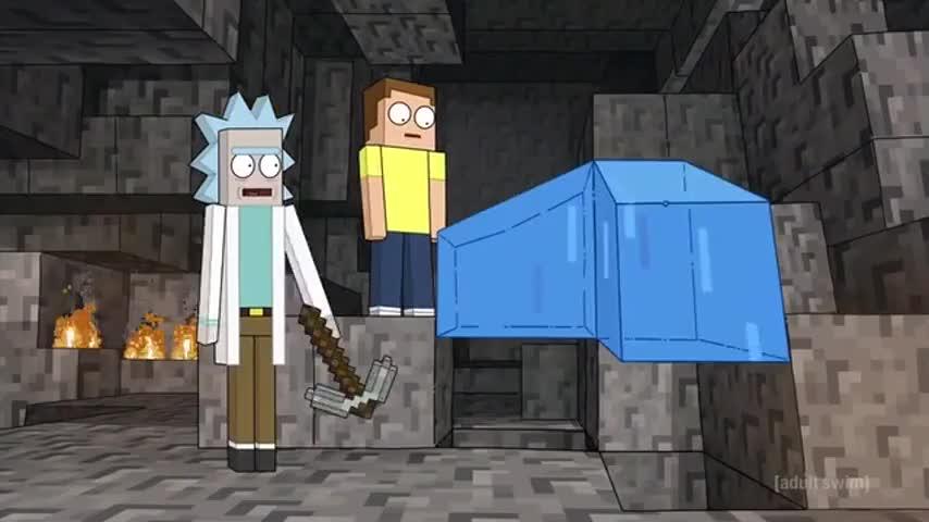 """Whoa! Just like """"Minecraft""""!"""