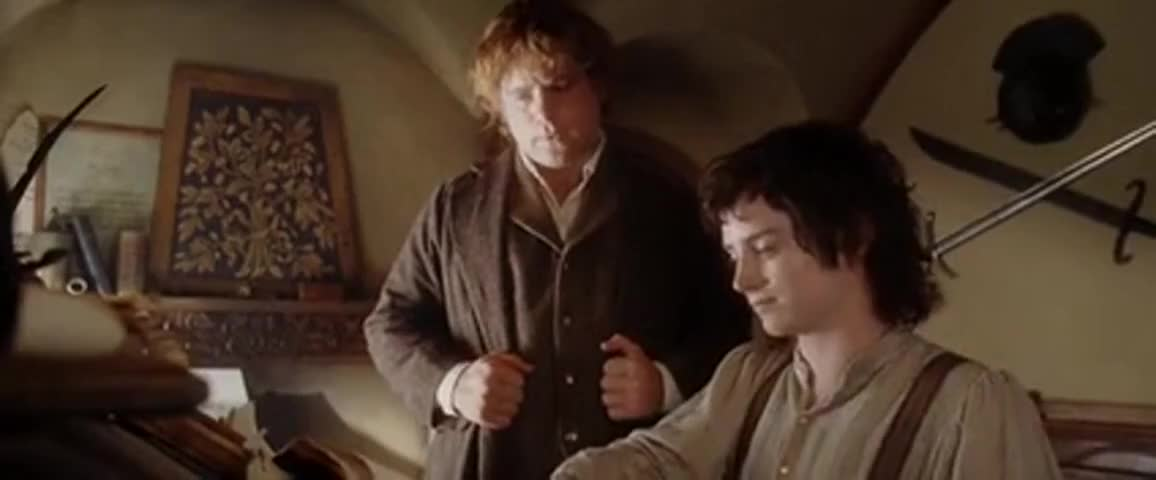 There and Back Again: A Hobbit's Tale by Bilbo Baggins.