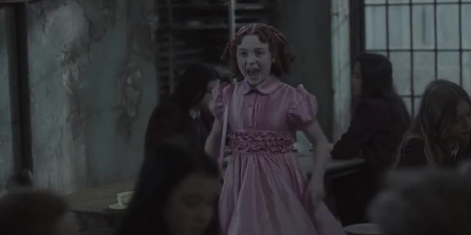 Clip image for 'Cake-sniffing orphans in the Orphan Shack! Cake-sniffing orphans in the Orphan Shack!