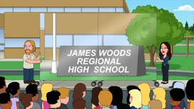 All right, Quahog, are you ready to see your new sign?