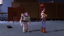 -Let's go, everyone. -What about Woody?