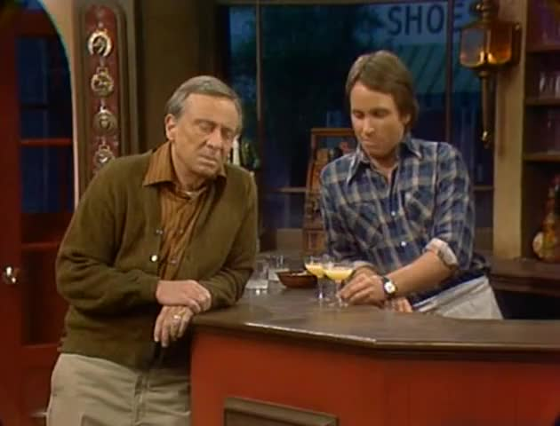Mr. Roper, why don't you cheer up, and, uh, have a daiquiri on the house.