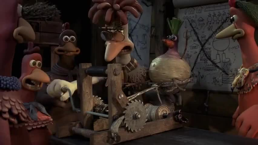 Chicken Run Quotes: And Wind Her Up, And ~ Chicken Run (2000)
