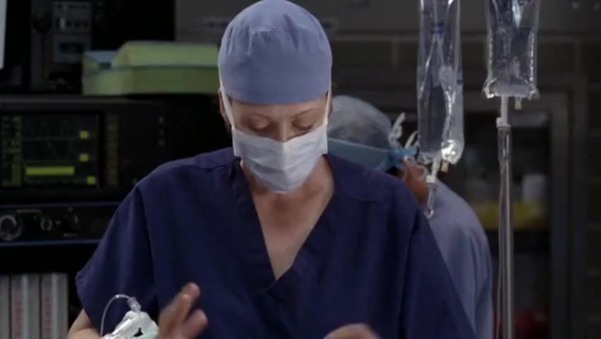 - Why are you doing this? - [Cristina] Because you need it.