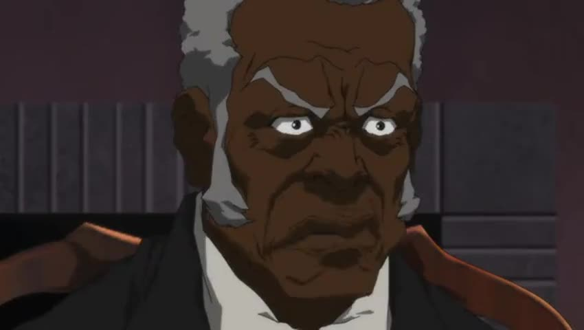 """Quiz for What line is next for """"The Boondocks """"? screenshot"""
