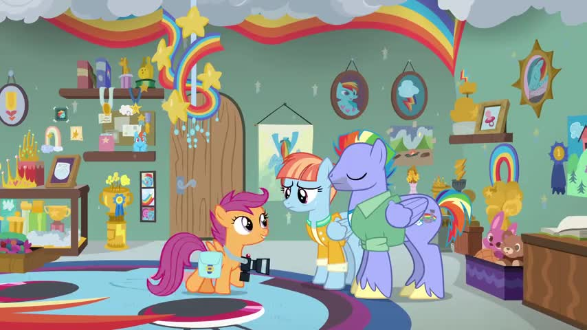 and then getting chosen as a Wonderbolt.