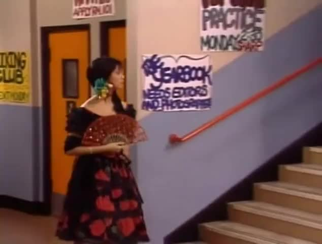 Clip image for 'Jessie, what are you doing dressed like that?