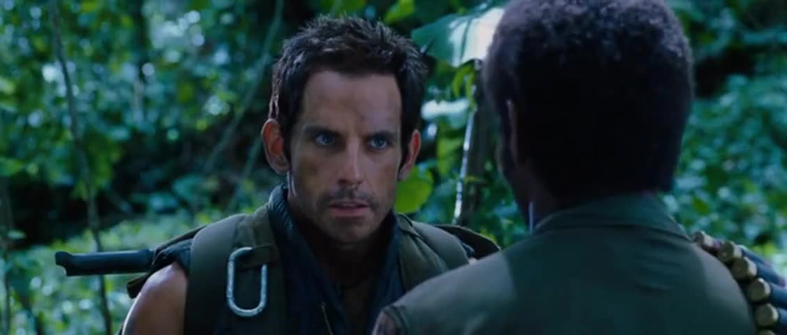 Tropic thunder go fuck yourself 13