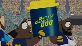 Go and chug a bottle of Butters Creamy Goo.
