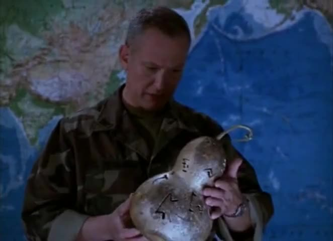- Iike... - It's a gourd.