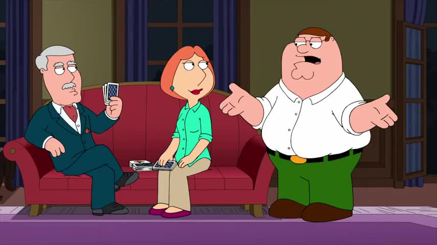 Lois, why do you always start talking like a snob