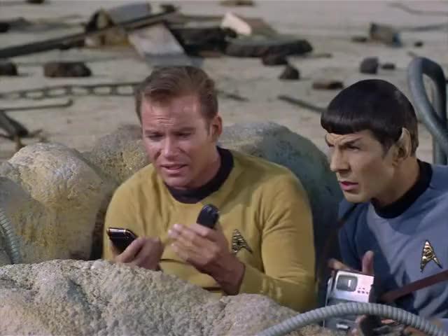 Kirk to Enterprise, lock on transporters. Beam us up.