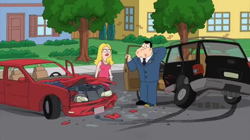 Francine! You T-boned me, bro!