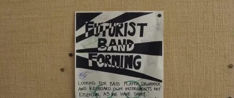Futurist band forming.