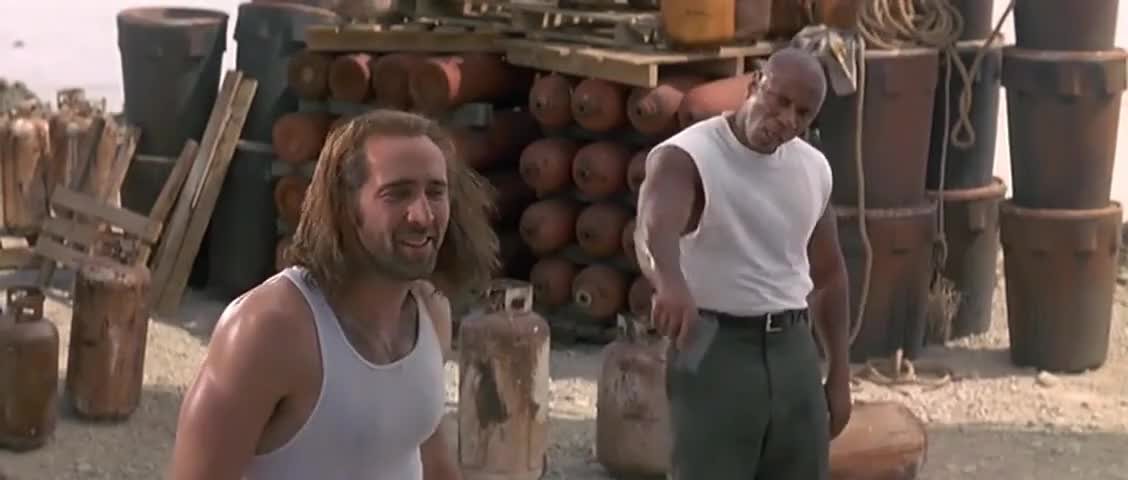 Clip image for 'Cyrus, this is your barbecue, man, and it tastes good.