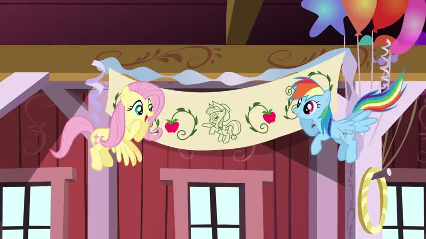I hope Applejack is surprised by this surprise party!