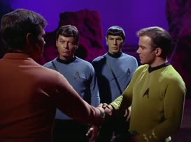 This is my first officer, Mr. Spock.