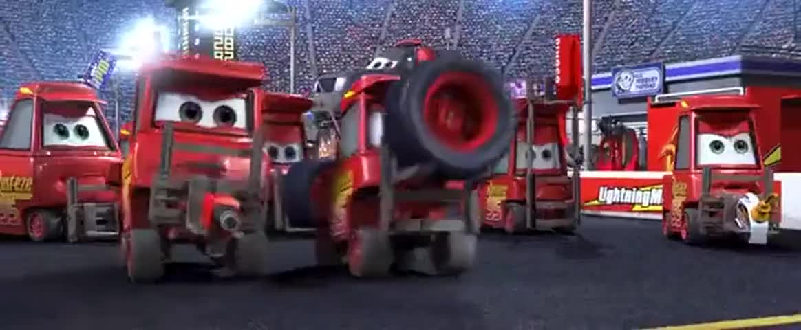 You need tires, you idiot!