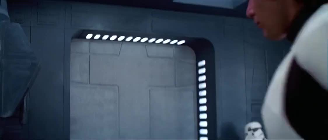 - Lock the door. - And hope they don't have blasters.