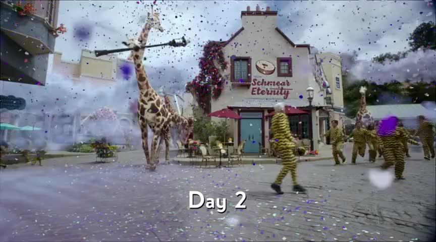 Giraffes! Run!