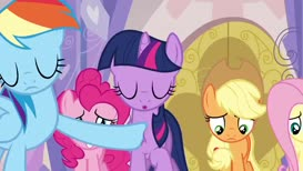 Princess, we gave our welcome to the wrong pony.