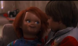 Clip thumbnail for 'Hi, I'm Chucky, and I'm your friend to the end. Hidey-ho.