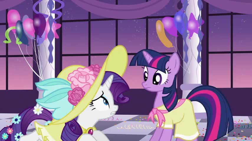 All of those ponies look so posh.