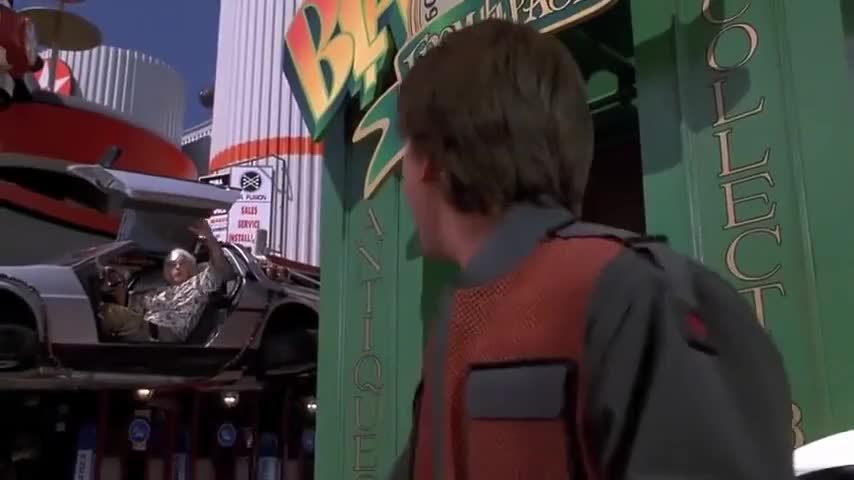 Quiz for Back to the Future Quiz screenshot
