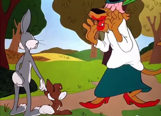 I'm Mrs. Rabbit, the little feller's mother.