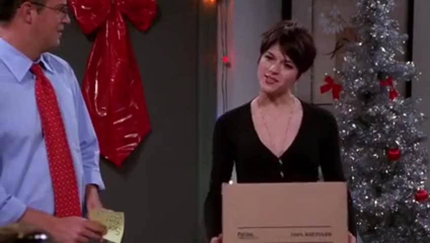 Yarn | So l stole their ham  ~ Friends (1994) - S09E10 The