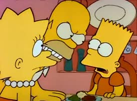 One more word and Bart gets no cartoons...