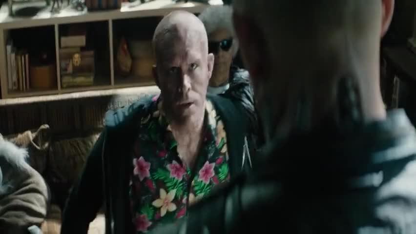 Just shirt-cocking it.