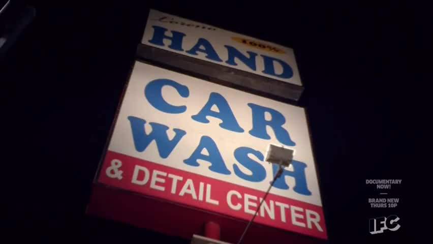 We kind of went by this carwash, you know,