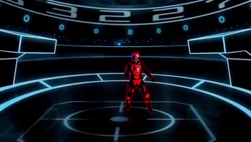 I'm in a Tron-like world right now, Sy. What's up?