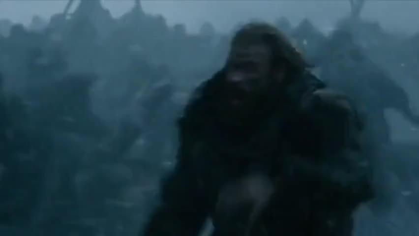 - Wun Wun, to the sea. - (roaring)
