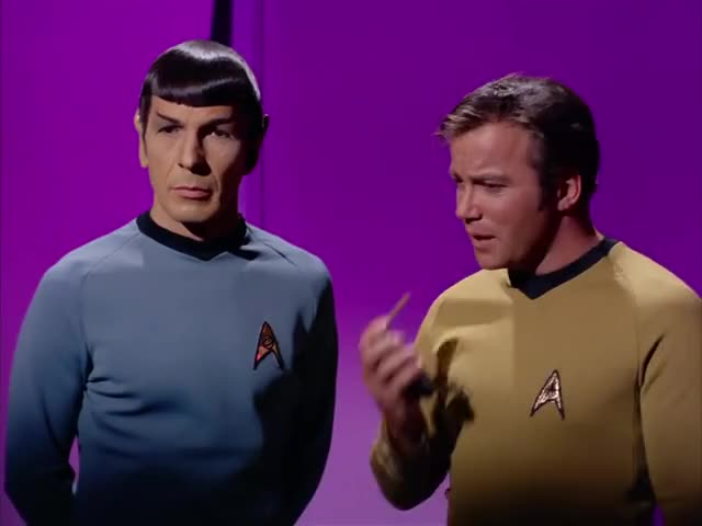 - I don't agree with you, Mr. Spock. - Indeed, captain?
