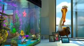 Fish gotta swim, birds gotta eat.
